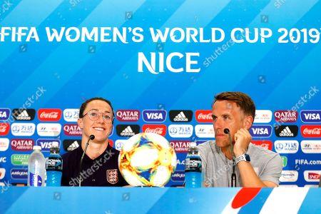 England Womens Football Press Conference, Nice