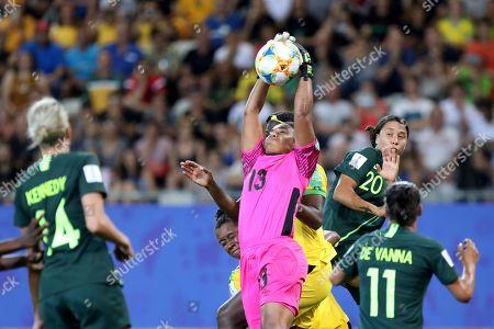 Editorial image of Jamaica Australia WWCup Soccer, Grenoble, France - 18 Jun 2019