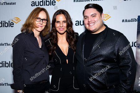Jo Bonney, Kate Del Castillo and Isaac Gomez