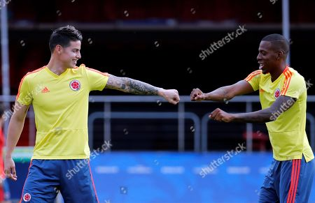 Editorial image of Colombia's national soccer team training session, Sao Paulo, Brazil - 18 Jun 2019