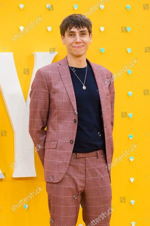 Alex Arnold poses on the red carpet at the UK premiere of 'Yesterday' at the Odeon Luxe Leicester Square in London, Britain, 18 June 2019. The film is released nationwide in Britain on 28 June 2019.