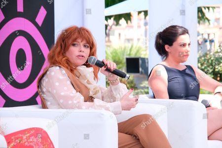 In this image taken on in Cannes, P&G's Marc Pritchard speaking alongside filmmaker and Free the Bid founder Alma Har'el and Orange is the New Black star Natasha Lyonne for the launch of 'Free the Work' ? a global talent discovery service which aims to increase the number of women and underrepresented creators in all areas of advertising and creativity. P&G is a founding partner