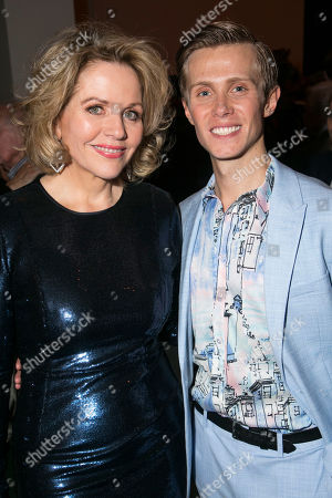 Renee Fleming (Margaret Johnson) and Rob Houchen (Fabrizio Naccarelli)