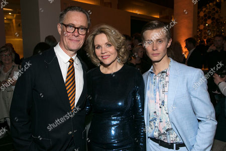 Alex Jennings (Signor Naccarelli), Renee Fleming (Margaret Johnson) and Rob Houchen (Fabrizio Naccarelli)