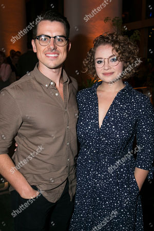 Oliver Ormson and Carrie Hope Fletcher