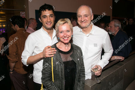 Moe Sonmez, Rosie Millard and Malcolm Sinclair (Roy Johnson)