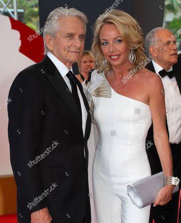 Michael Douglas and Princess Camilla of Bourbon-Two Sicilies