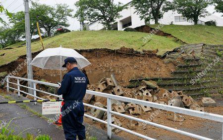 Earthquake  hits northern Japan