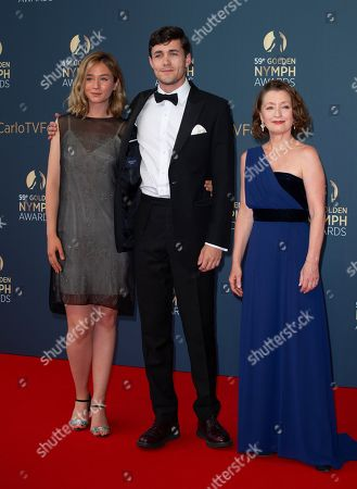 Stock Photo of Zofia Wichlacz, Jonah-Hauer King and Lesley Manville