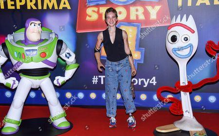Editorial image of 'Toy Story 4' Film Screening, Rome, Italy - 16 Jun 2019