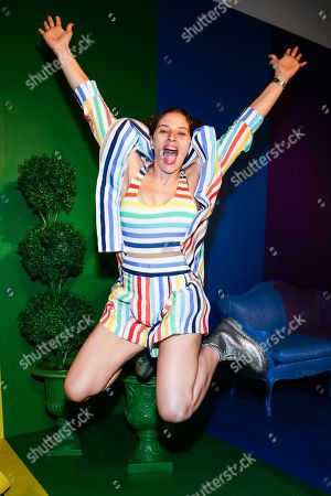 Editorial picture of World Pride summer kickoff party hosted by Alice and Olivia and The Trevor Project, New York, USA - 18 Jun 2019