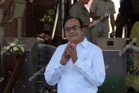 Congress MP P. Chidambaram