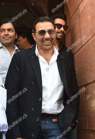 Stock Picture of Member of Parliament from Punjab's Gurdaspur, Sunny Deol