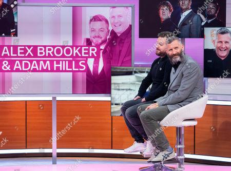 Alex Brooker and Adam Hills