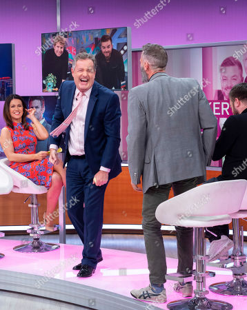 Piers Morgan, Susanna Reid, Alex Brooker and Adam Hills