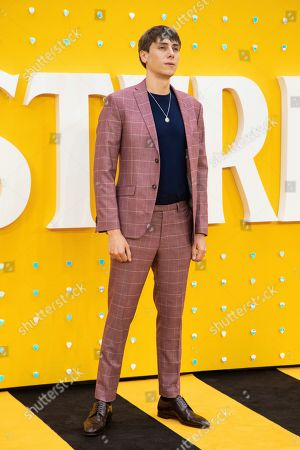Stock Picture of Alex Arnold poses for photographers upon arrival at the premiere of the film 'Yesterday' in London