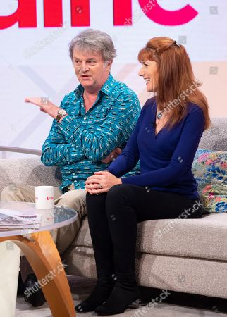 Paul Merton and Suki Webster