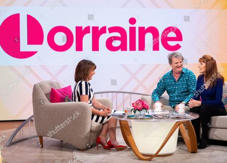 Lorraine Kelly, Paul Merton and Suki Webster