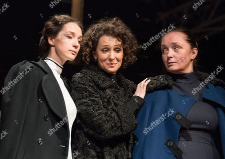 Editorial photo of 'Three Sisters' Play performed by the Maly Theatre Company at the Vaudeville Theatre, London, UK, 19 Jun 2019