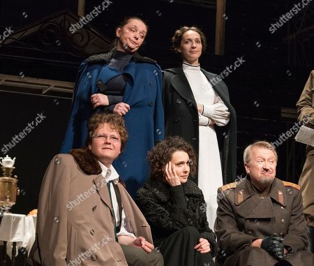 Editorial picture of 'Three Sisters' Play performed by the Maly Theatre Company at the Vaudeville Theatre, London, UK, 19 Jun 2019