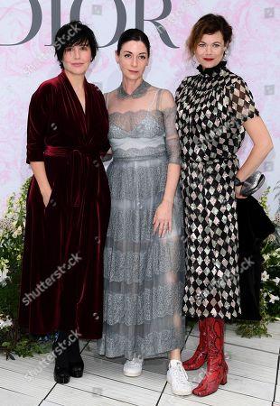 Sharleen Spiteri, Mary McCartney and Jasmine Guinness