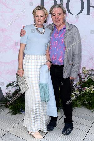 Sir Andrew Lloyd Webber and Madeleine Lloyd Webber