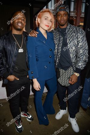 Krept, Noomi Rapace and Konan