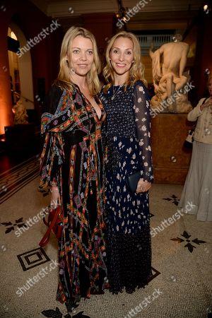 Stock Photo of Jemma Kidd and Claire Woyton