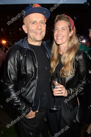 Stock Image of Marc Quinn and Georgia Byng