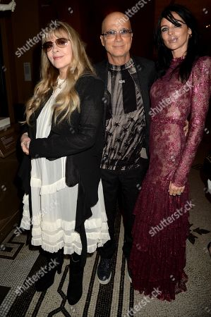 Stevie Nicks, Jimmy Iovine and Liberty Ross