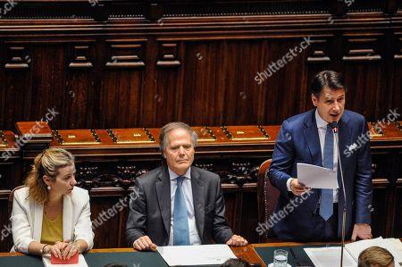 Editorial photo of Chamber of Deputies meeting, Rome, Italy - 19 Jun 2019