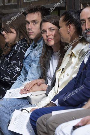 (L-R) Camille Marie Kelly Gottlieb, Louis Ducruet, Charlotte Casiraghi and Stephanie of Monaco