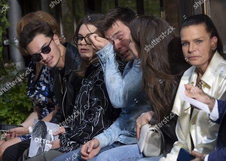 Camille Marie Kelly Gottlieb, Louis Ducruet, Charlotte Casiraghi and Princess Stephanie of Monaco
