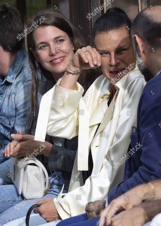 Charlotte Casiraghi and Princess Stephanie of Monaco