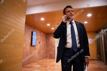 Editorial image of Manuel Valls Press conference in Barcelona, Spain - 19 Jun 2019