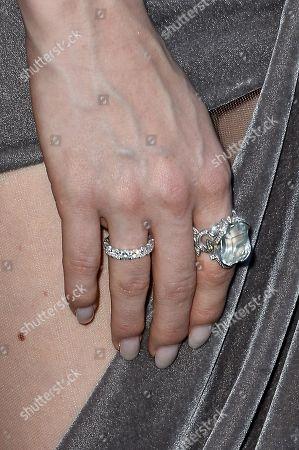 Barbara Meier, jewellery detail