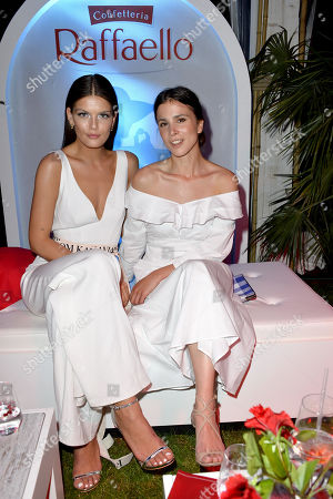 Stock Image of Vanessa Fuchs and Aylin Tezel