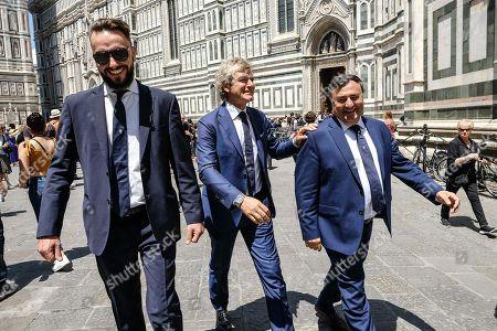 Giancarlo Antognoni with Joe Barone