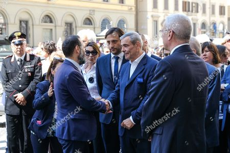 Editorial photo of Funeral of Franco Zeffirelli, Florence,  Italy - 18 Jun 2019