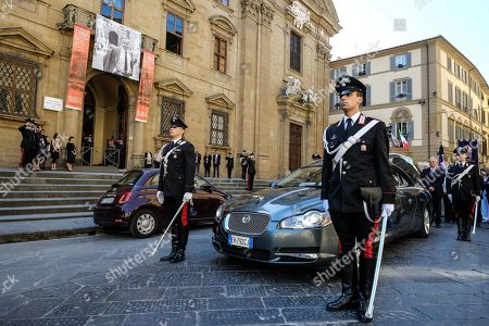 Editorial image of Funeral of Franco Zeffirelli, Florence,  Italy - 18 Jun 2019