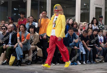 Editorial image of Walter van Beirendonck - Runway - Paris Men's Fashion Week S/S 2020, France - 19 Jun 2019