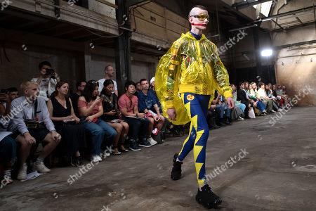 Editorial picture of Walter van Beirendonck - Runway - Paris Men's Fashion Week S/S 2020, France - 19 Jun 2019