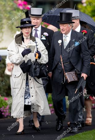 Stock Image of Princess Anne and Andrew Parker Bowles