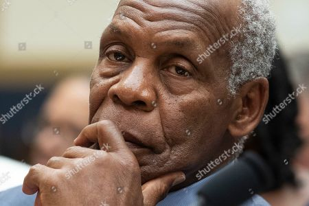 US actor Danny Glover appears before the US House Judiciary subcommittee hearing entitled 'HR 40 and the Path to Restorative Justice' - a hearing held to discuss slavery reparations, on Capitol Hill in Washington, DC, USA, 19 June 2019.