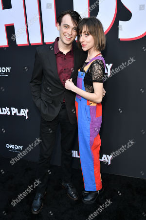 Stock Image of Dylan Riley Snyder and Allisyn Ashley Arm