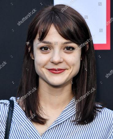 Stock Photo of Kathryn Prescott
