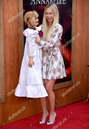 Editorial image of 'Annabelle Comes Home' film premiere, Arrivals, Regency Village Theatre, Los Angeles, USA - 20 Jun 2019