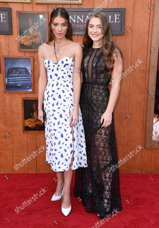Stock Picture of Olivia Rouyre and Amanda Pavillard