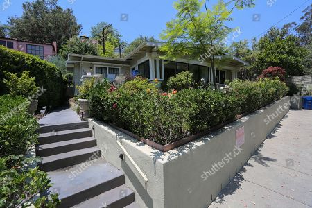The house at 1911 Pinehurst Road is seen as jury members visit an evidence site during the murder trial of Michael Gargiulo in Los Angeles, California, USA, 19 June 2019. Gargiulo is charged in the stabbing deaths of two women, one of whom was about to go out with actor Ashton Kutcher that night, as well as attempting to kill a woman during a robbery at her Santa Monica home.