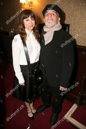 Stock Image of Rebecca Pidgeon and David Mamet (Author/Director)